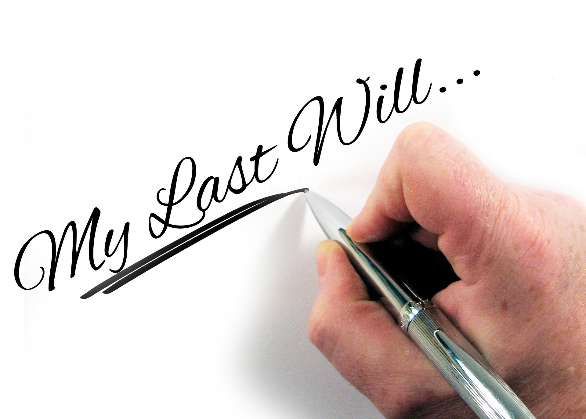 why you need to write a will
