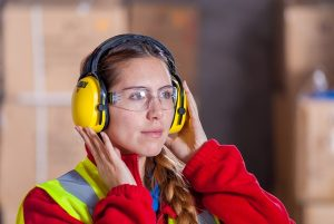 preventing hearing damage at building work