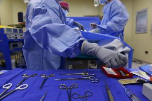 surgical tools left in patient